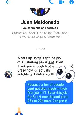 Juan NEA Testimonial